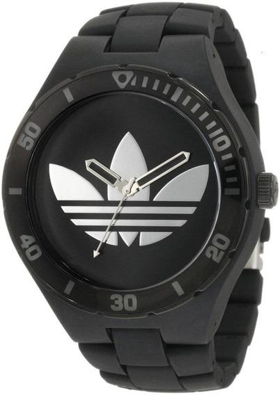 Relógio De Pulso adidas Adh2643z Borracha Preto Original