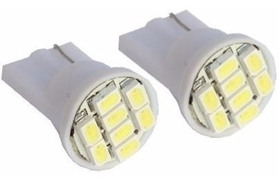 Led T 10 Com 8 Leds (pingo)
