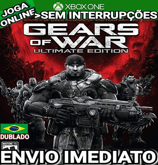 Gears Of War Ultimate Xbox One Online Digital Original Ptbr