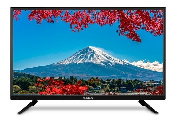 Televisor 32 Led Aiwa Aw32n1, 2 Hdmi 2 Usb 1 Vga Rca Compues