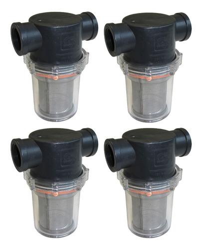 Imagen 1 de 5 de Filtro Vaso Transparente Para Hidrolavadora X4 Pzas.