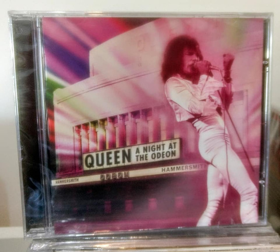 Cd Queen Live At The Odeon