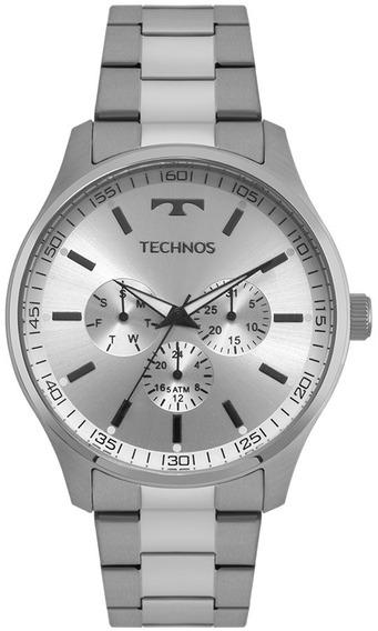 Relógio Technos Steel Masculino 6p29ajo/1k Original Nf