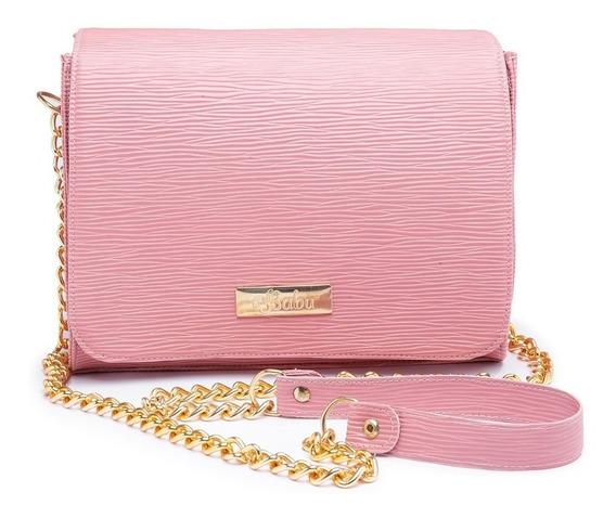 Bolsa Feminina Kit Com 3 Bolsas Pequena+carteira Ref: A