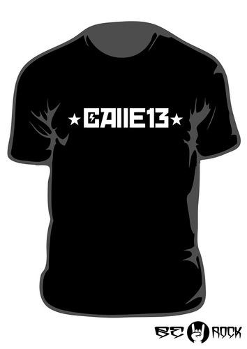 Remera Estampada Calle 13 Vinilo Importado