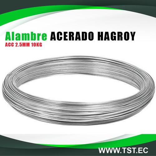 Alambre Acerado Hagroy Acc 2.5mm 10kg