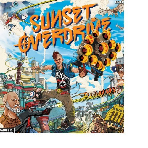 Sunset Overdrive -pc-dvd(midia Fisica)