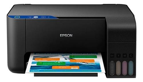 Imagem 1 de 3 de Impressora a cor multifuncional Epson EcoTank L3110 preta 100V/240V