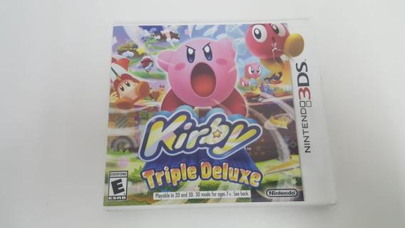 Jogo Kirby Triple Deluxe - Nintendo 3ds - Original
