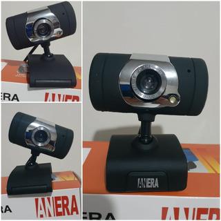 Camara Web Webcam Anera Facecam Micrófono Usb Hd