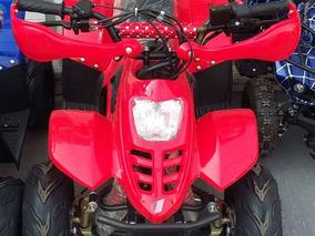 Cuatrimoto 110cc Motor De 4 Tiempos Disponible: Rojo Y Azul
