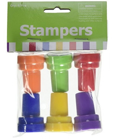 Fun Express 24 Paw Print Stampers