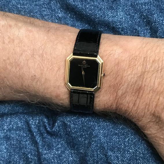 Relógio Nivel Omega Ouro 18k Maciço Baume Mercier Masculino Grandão - 13 Anos No Mercado Livre B