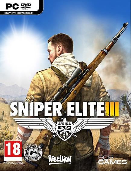 Sniper Elite 3 Pc - Steam Key (envio Já)