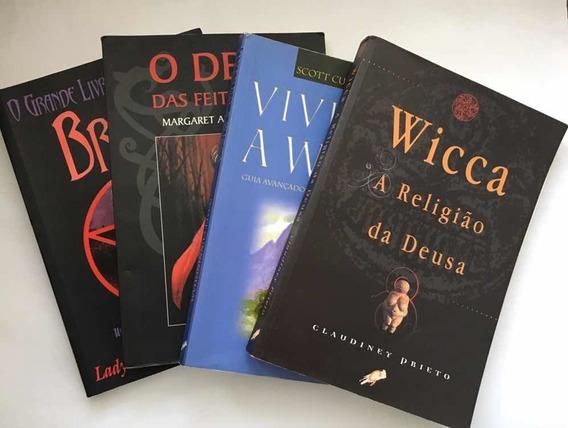 Kit Quatro Livros Wicca