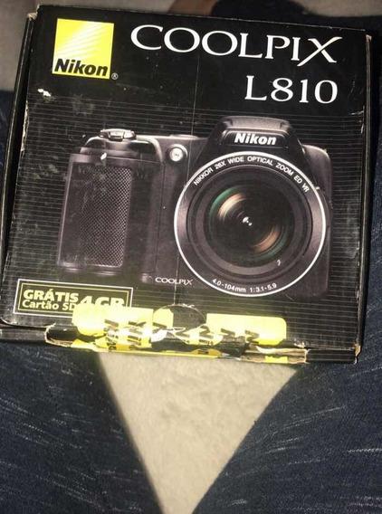 Câmera Coolpix L810 Nikon