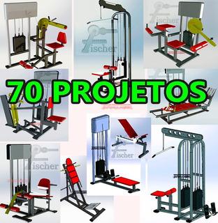 Planos Construye Maquinas De Ejercicios Gym Gimnasios