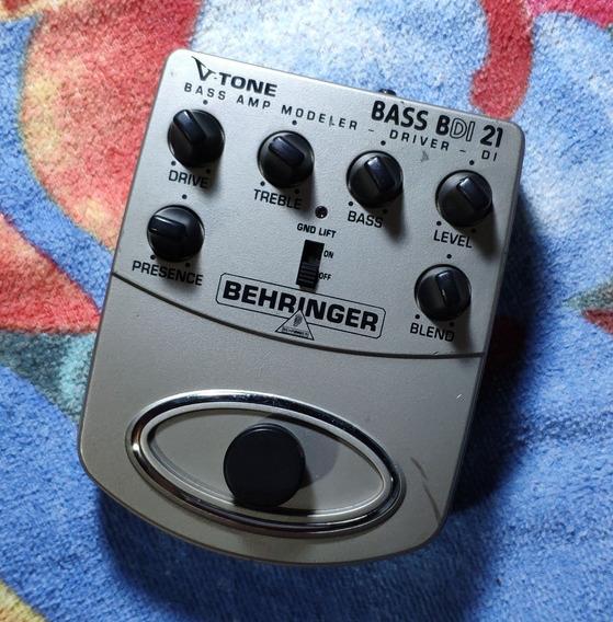 Behringer V-tone Bass Bdi21 - Willaudio