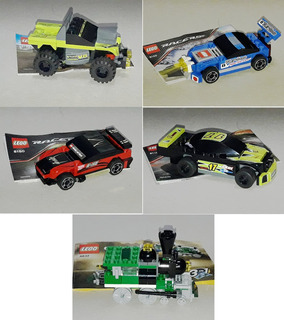 Lote Lego Racers 8119 - 8120 - 8150 - 8192 - 4837
