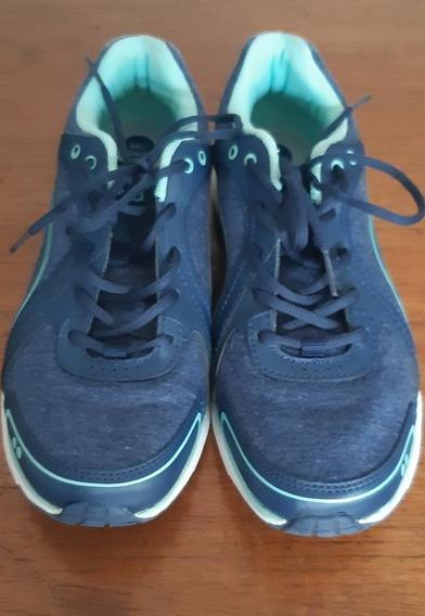 Tenis Ryka Importado, Confortavel, Azul-verde Água, 37