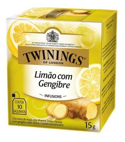 Chá Twinings Limão Com Gengibre 10 Sachês
