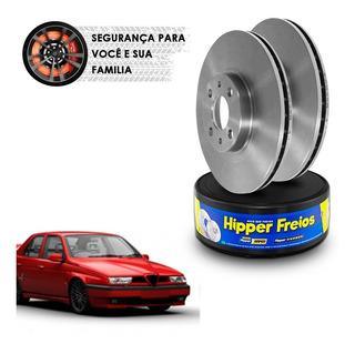 Disco Freio Dianteiro Ventilado Alfa Romeo 155 2.5i 92 A 97
