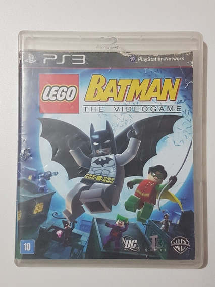 Capa Lego Batman Original Para Playstation 3