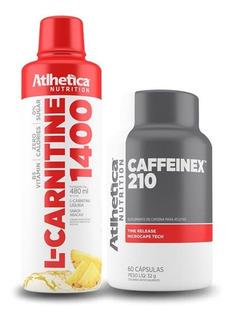 Kit Queima De Gordura Caffeinex 210mg + L-carnitina 1400mg
