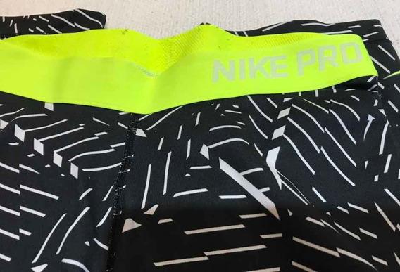 Calzas Pescadoras Nike Pro Talle Small Excelente Usada