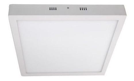 Luminária Painel Led De Sobrepor 36w Luz Branca 30x60