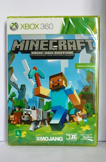 Jogo Minecraft Xbox 360 Edition Novo Lacrado Frete Gratis Nf