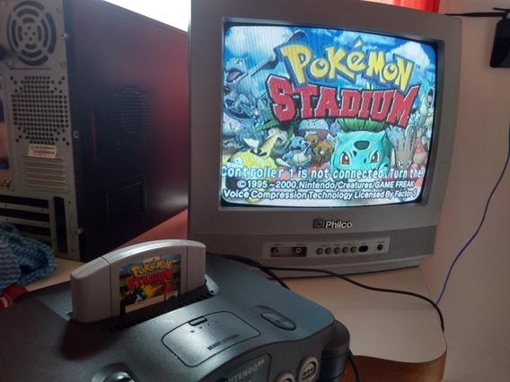 Cartucho Pokemon Stadium Original + Transferpak Original
