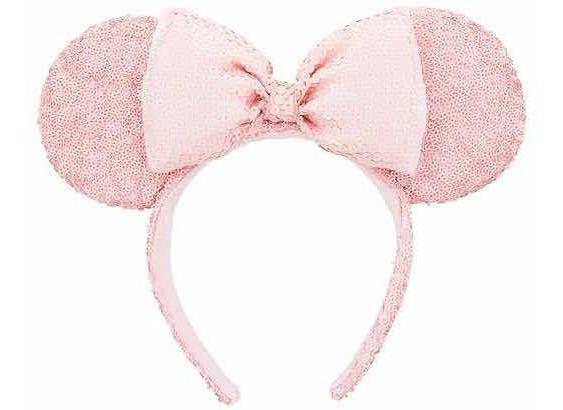 Disney Parks Tiara Minnie Rosa Disney Store