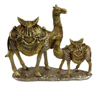 Figura Camellos Decoración Árabe Camello Egipcio En Resina