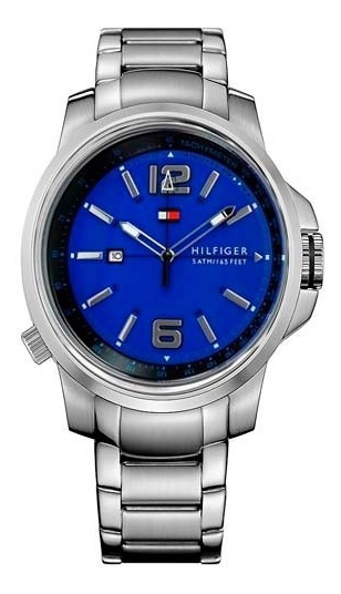 Relógio Tommy Hilfiger Fundo Azul 1791237 - Pronta Entrega!