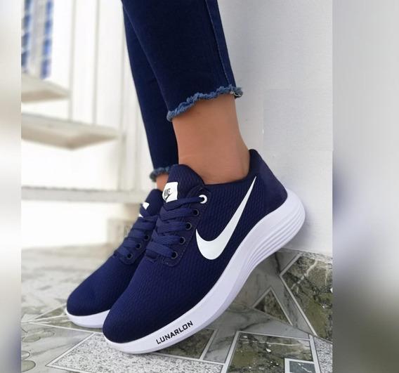 Tenis Nike Lunarlon. Ideal Para Salir Y Hacer Deporte