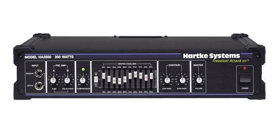 Amplificador Cabezal De Bajo Hartke Systems Ha3500 350w