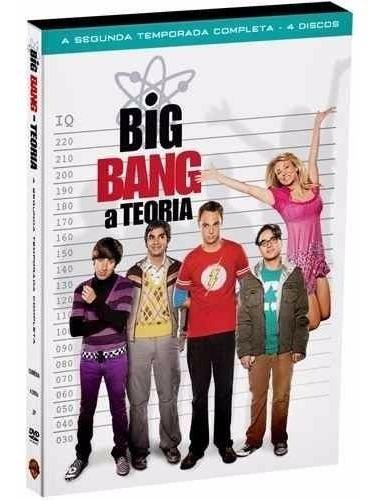 The Big Bang Theory - Segunda Temporada - Original - Lacrado