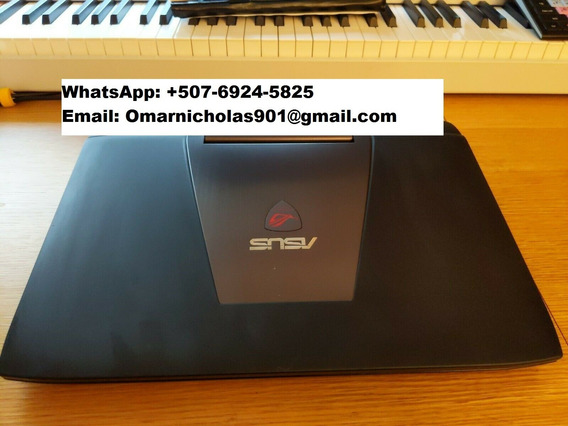 Laptop Rog G751jt 17.3 Hd (250gb Ssd/1tb Hdd Intel I7 4720
