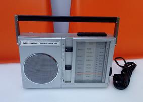 Rádio Alemão Grundig Music Boy 50 Funcionando Fm /lw / Mw