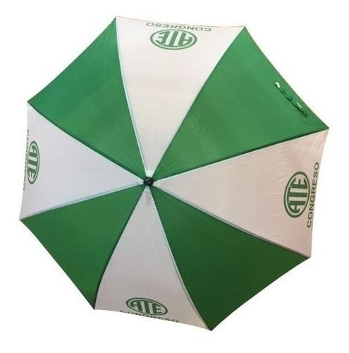 Imagen 1 de 9 de 5 Paraguas Gigantes Con Tu Logo Estampado Modelo Reforzado