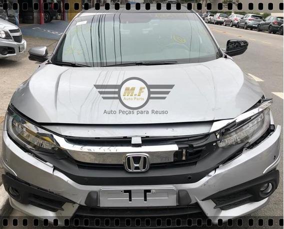 Sucata Honda Civic 1.5 16v Turbo Touring 2018 Motor Cambio