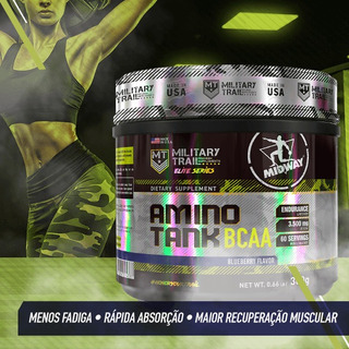Amino Tank 300g - 3.500mg P/ Porção - Military Trail Usa