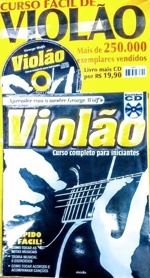 Revista Guia Violão Aprenda A Tocar Vol 1