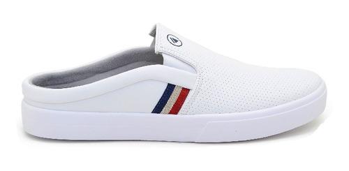 Sapatenis Mule Iate Slip On Confortavel Versatil Sound Shoes