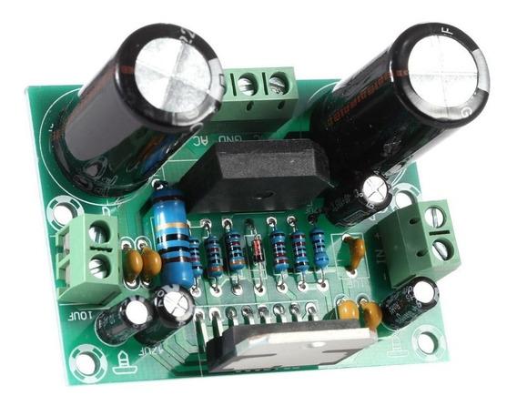 5 X Amplificador Potência De Áudio Tda7293 100w Montada