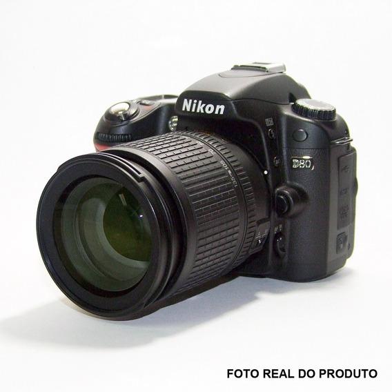 Camera Nikon D80 + Lente Af-s Nikkor 18-135mm - F-3.5-5.6