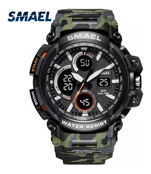 Relógio Militar Smael, A Prova D