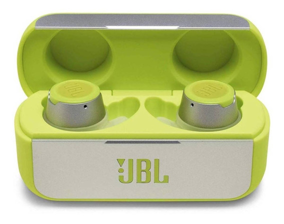 Fone de ouvido sem fio JBL Reflect Flow green