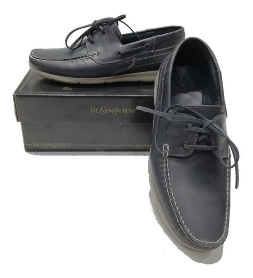 Zapatos Nauticos Yves Saint Laurent!! Super Oferta!! Local.